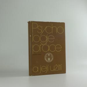 náhled knihy - Psychologie práce a její užití