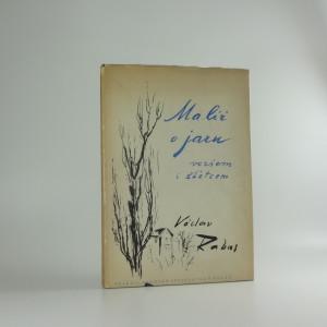 náhled knihy - Malíř o jaru veršem i stětcem