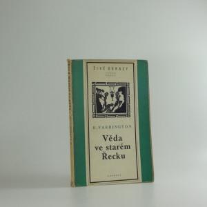 náhled knihy - Věda ve starém Řecku a její význam pro nás : od Thaleta k Aristotelovi