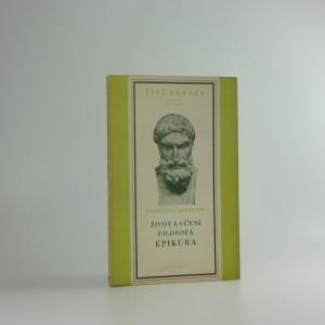 náhled knihy - Život a učení filosofa Epikura