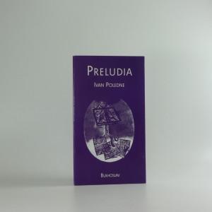 náhled knihy - Preludia : verše z poloviny 60. let