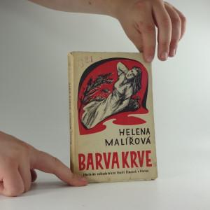 náhled knihy - Barva krve