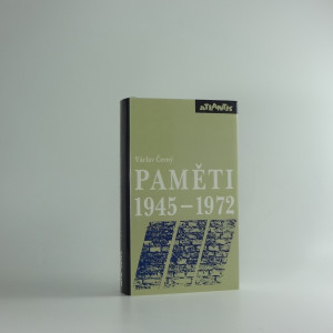 náhled knihy - Paměti 1945-1972