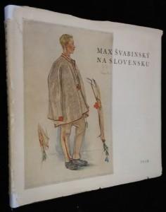 náhled knihy - Max Švabinský na Slovensku