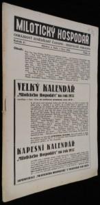 náhled knihy - Milotický hospodář, 10. číslo, ročník 47.