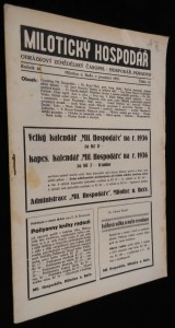 náhled knihy - Milotický hospodář, 12. číslo, ročník 46.
