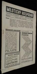 náhled knihy - Milotický hospodář, 6. číslo, ročník 46.