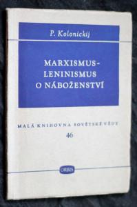 náhled knihy - Marxismus- Leninismus o náboženství