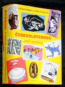 náhled knihy - Československo země neznámá. Morava
