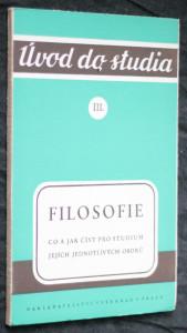 náhled knihy - Filosofie : Co a jak číst pro studium jejích jednotlivých oborů