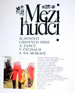antikvární kniha Mezi hudci : slavnosti lidových písní a tanců v Čechách a na Moravě, 1985