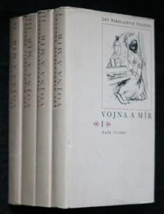 náhled knihy - Vojna a mír 1-4