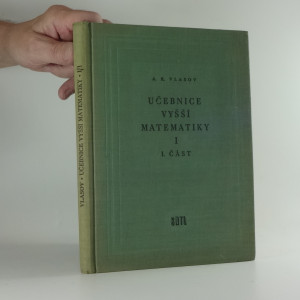 náhled knihy - Učebnice vyšší matematiky I, 1. část