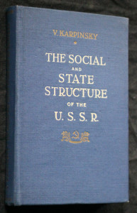 náhled knihy - The social and state structure of the U.S.S.R.
