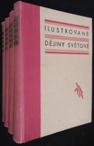 náhled knihy - Ilustrované dějiny světové Díl I.- IV.