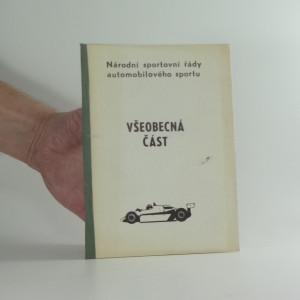 náhled knihy - Národní sportovní řády automobil.sportu