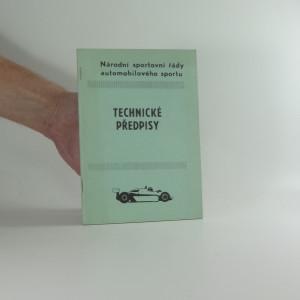 náhled knihy - Národní sport.řády automobil.sportu Technické předpisy