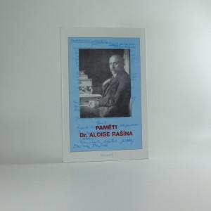 náhled knihy - Paměti Dr. Aloise Rašína