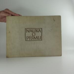náhled knihy - Nauka o písmu (Ocpl, 92 s., ob a typo O. Menhart)
