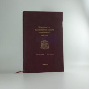 náhled knihy - Mincovnictvi olomouckých biskupů a arcibiskupů