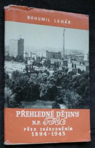 náhled knihy - Přehledné dějiny národního podniku Svit před znárodněním 1894-1945
