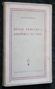 náhled knihy - Renan, Německo a atheismus XIX. stol.