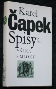 náhled knihy - Válka s Mloky