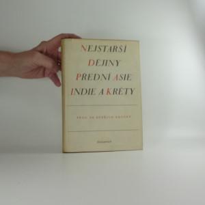 náhled knihy - Nejstarší dějiny přední Asie, Indie a Kréty
