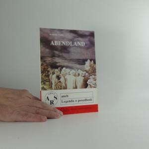 náhled knihy - Abendland aneb Legenda o posedlosti
