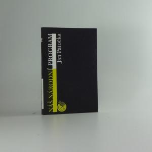 náhled knihy - Náš národní program