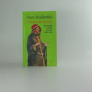 náhled knihy - Světová náboženství jako odpovědi na otázku po smyslu života a světa