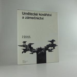 náhled knihy - Umělecké kovářství a zámečnictví