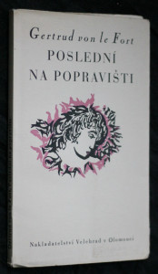 náhled knihy - Poslední na popravišti : novela
