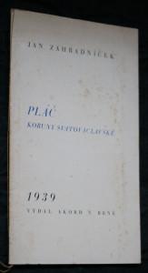 náhled knihy - Pláč koruny svatováclavské
