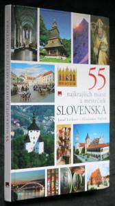 náhled knihy - 55 najkrajších miest a mestečiek