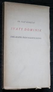 náhled knihy - Svatý Dominik, zakladatel řádu kazatelského