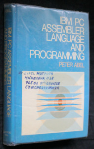 náhled knihy - IBM PC assembler language and programming