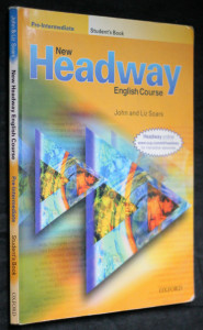 náhled knihy - New headway english course, pre-intermediate student's book