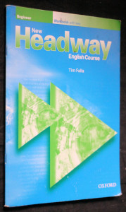 náhled knihy - New headway english course, beginner workbook with key