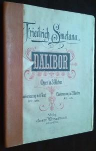 náhled knihy - Friedrich Smetana: Dalibor