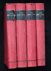 náhled knihy - Ilustrované dějiny světové. Díly I-IV