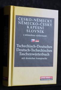 náhled knihy - Česko-německý, německo-český slovník Tschechisch-deutsches, Deutsch-tschechisches Taschenwörterbuch : mit deutscher Aussprache Německo-český slovník Česko-německý, německo-český kapesní slovník : s německou výslovností