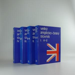 náhled knihy - Velký anglicko-český slovník (4 svazky)