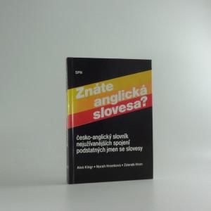 náhled knihy - Znáte anglická slovesa? : Česko-anglický slovník nejužívanějších spojení podstatných jmen se slovesy