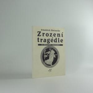 náhled knihy - Zrození tragédie z ducha hudby