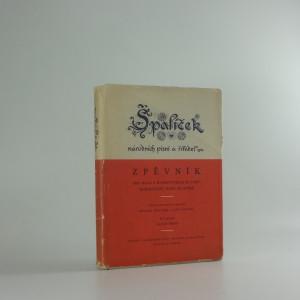 náhled knihy - Špalíček národních písní a říkadel : zpěvník pro hlas s doprovodem kytary, harmoniky nebo klavíru