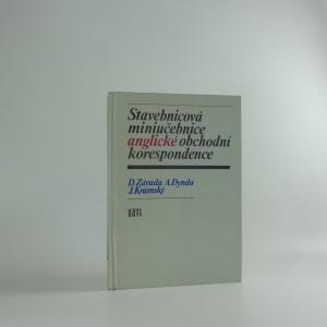 náhled knihy - Stavebnicová miniučebnice anglické obchodní korespondence