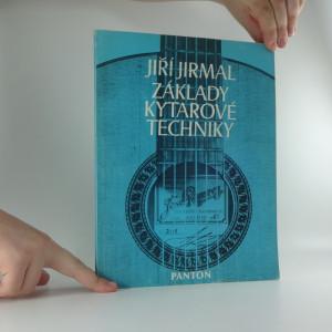 náhled knihy - Základy kytarové techniky