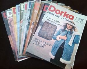 náhled knihy - Dorka 1982, roč.XVII, č. 1-12