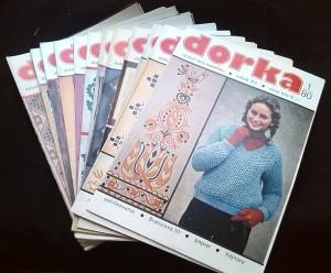 náhled knihy - Dorka 1980, roč. XV, č. 1-12